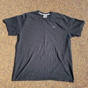 Vintage Nike T Shirt Mens 2XL Black
